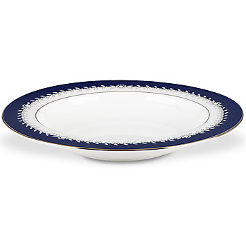 $89.00 Marchesa Empire Indigo Rim Soup Bowl